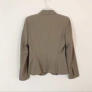 The Limited Jackets & Coats - The Limited • Brown Lined Double Button Blazer 8